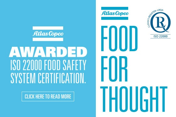 Atlas Copco ISO 22000 Food Safety