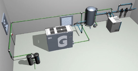 Designing An Efficient Compressor Room Ventilation