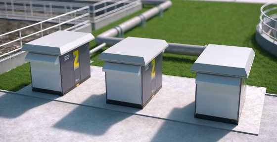 Image rendering of oil-free compressors